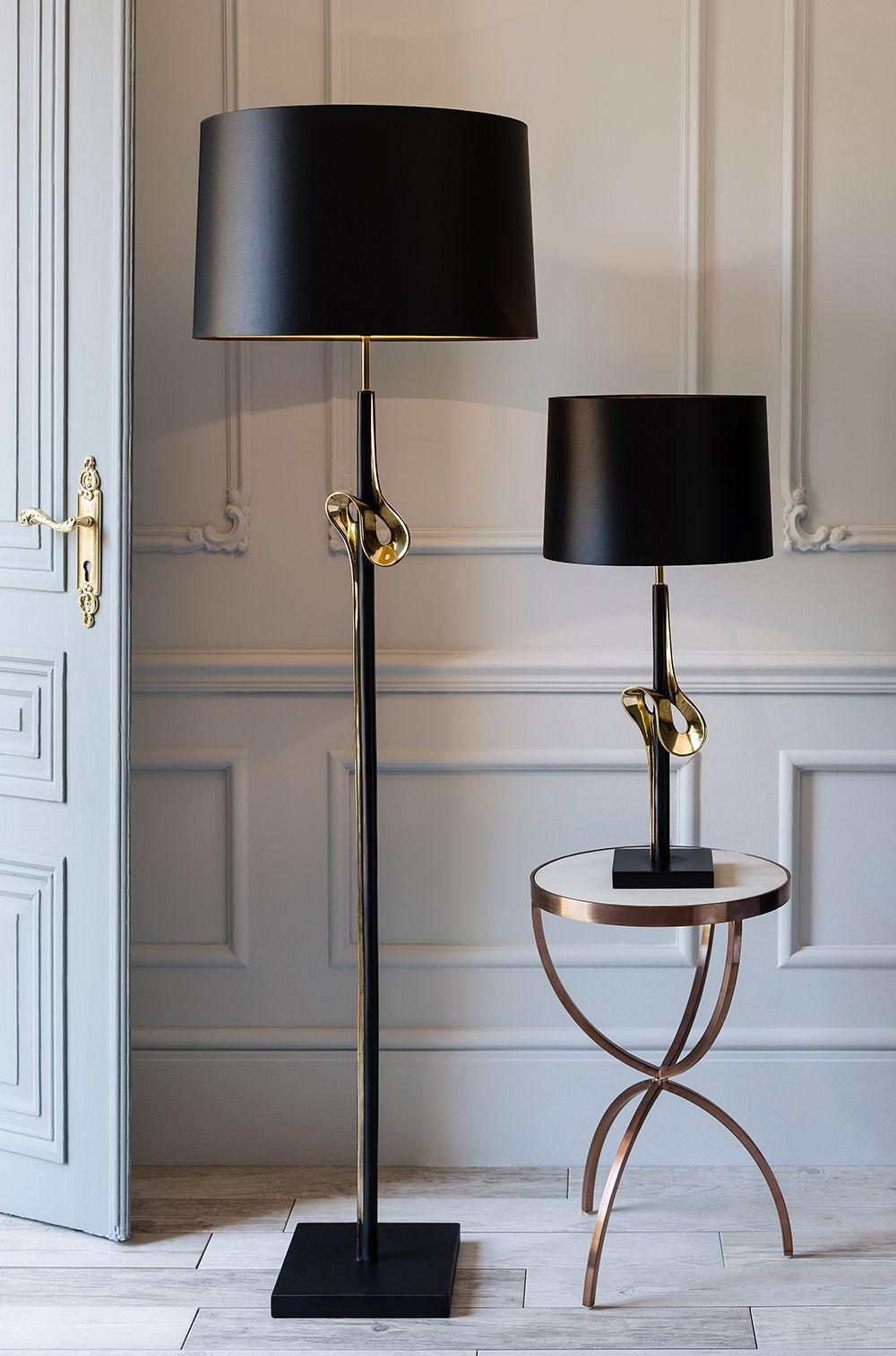 The Floor Lamps Ideas For Your Decor Wishes Http Modernfloorlamps Net Unique Floor Lamps Lamps Living Room Black Floor Lamp