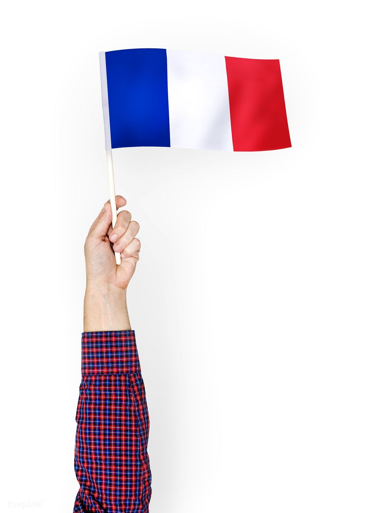 Download Premium Psd Of Person Waving The Flag Of French Republic 422543 French Flag Flags Of The World Free Images