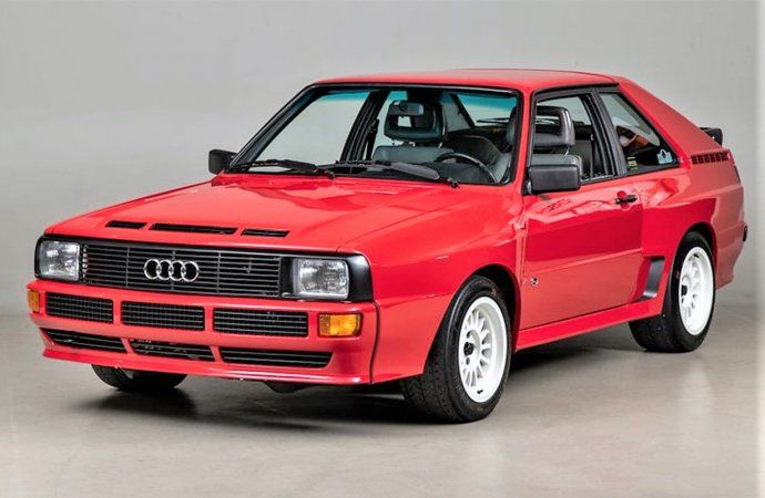 Rally star 1986 Audi Sport Quattro short-wheelbase coupe ...