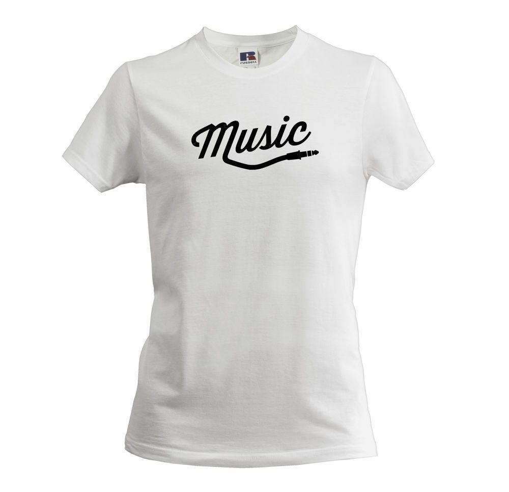 White t shirt ebay uk - Details About Music Style Men S Boys T Shirt Funny Slogan Quality Style Apparel Gift For Him
