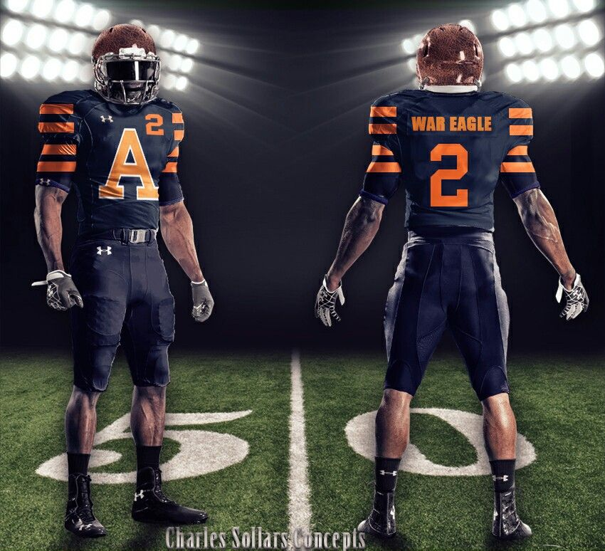 709a3ef7472 Auburn concept uniform, I like it, but the sleeves are to long ...