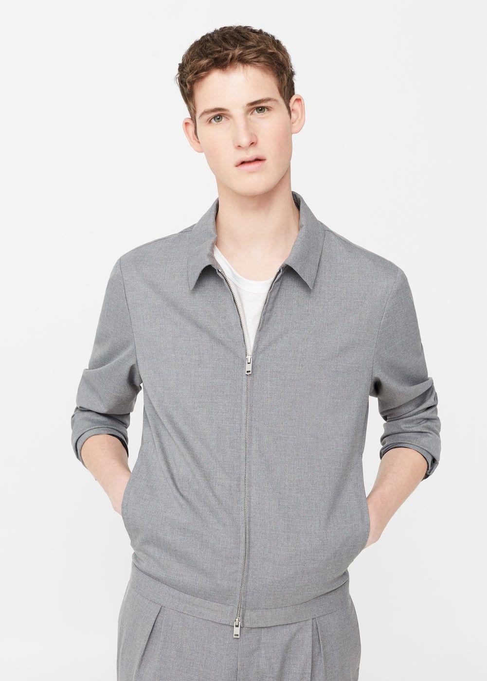 Pocket structured jacket - Men  2d2e1b2c472
