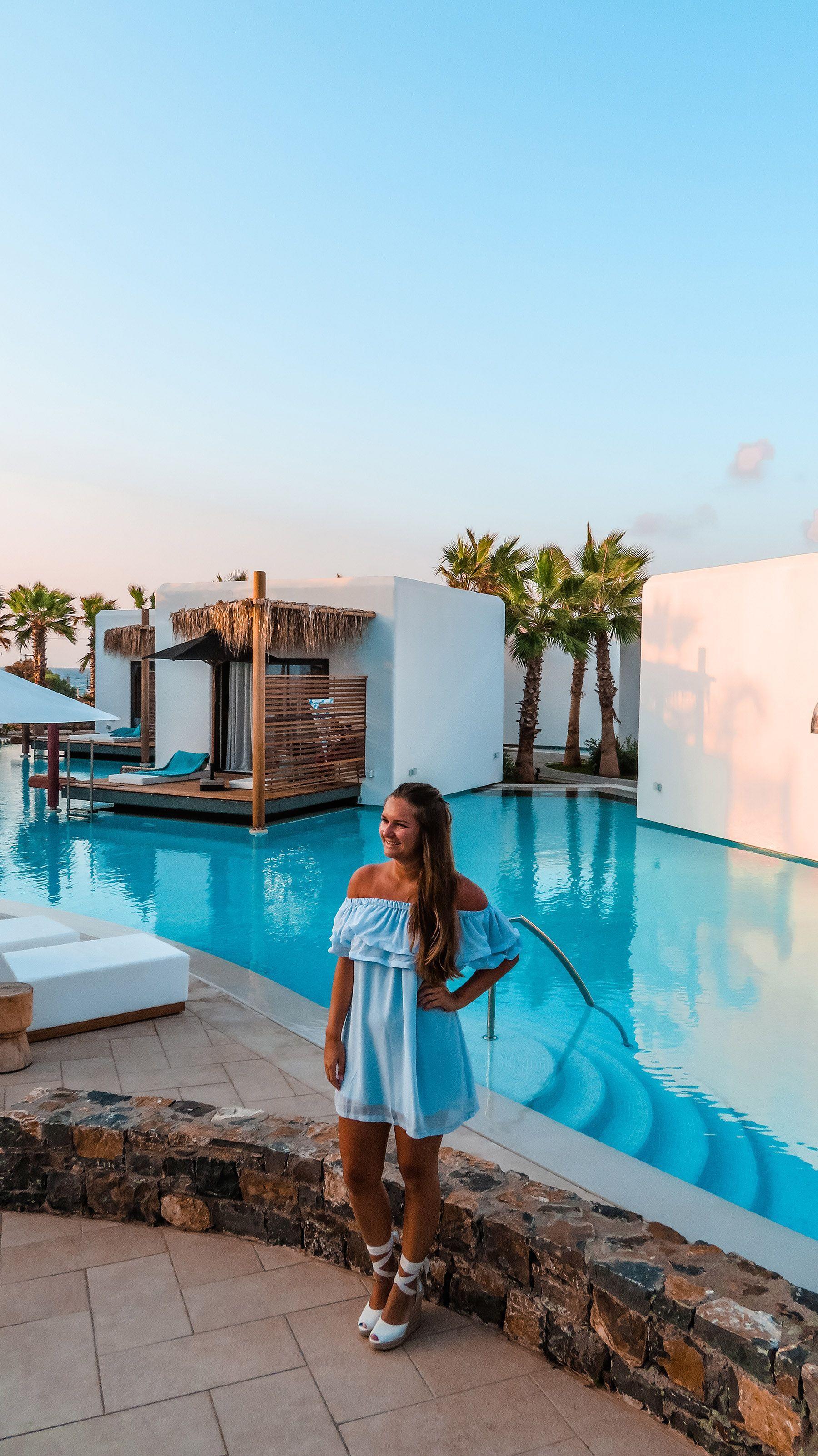Stella Island Luxury Resort & Spa Kreta Blogging