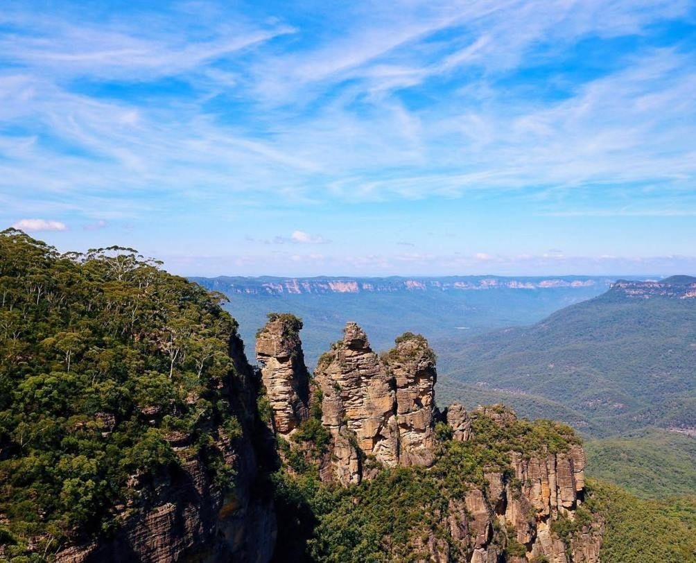Echo Point, Katoomba, Blue Mountians Monument valley