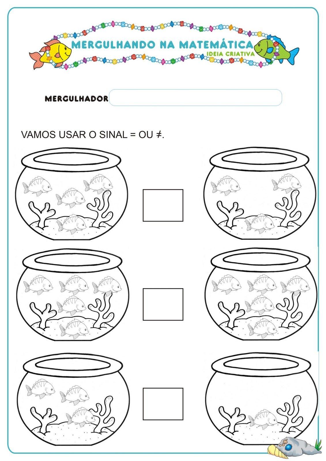 Tel de vissen, free printable | Educação Infantil | Pinterest | Free ...