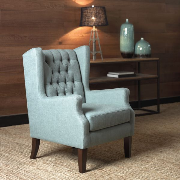 Maxwell Lillian Wing Chair  Overstock™ Shopping  Great Deals On Inspiration Wing Chairs For Living Room Review