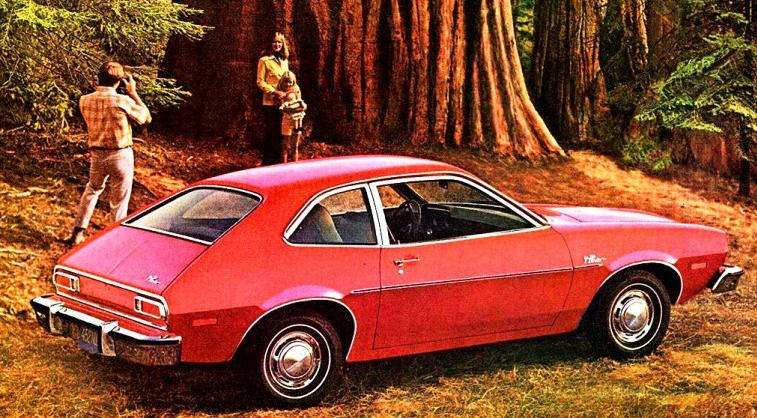 Ford Pinto Sportiva Interior