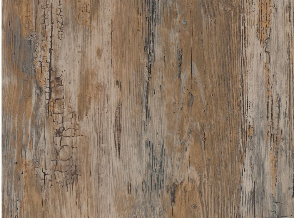 Details about brown contact paper vinyl wood rustic home for Folie steindekor