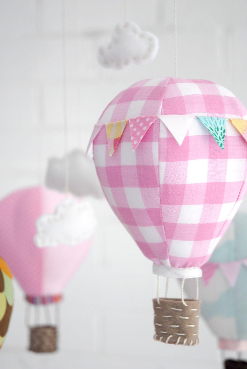 Heißluftballon mobile | Heißluftballon Mobile | Pinterest ...