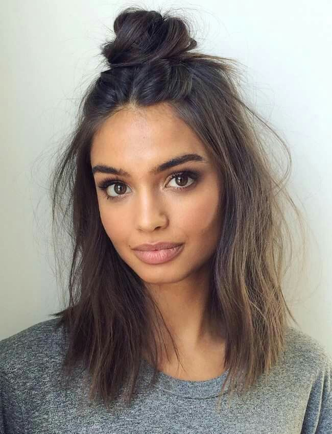 Medium Length Hairstyles Unique 18 Hairstyles For Short Or Medium Length Hair  Preeety  Pinterest
