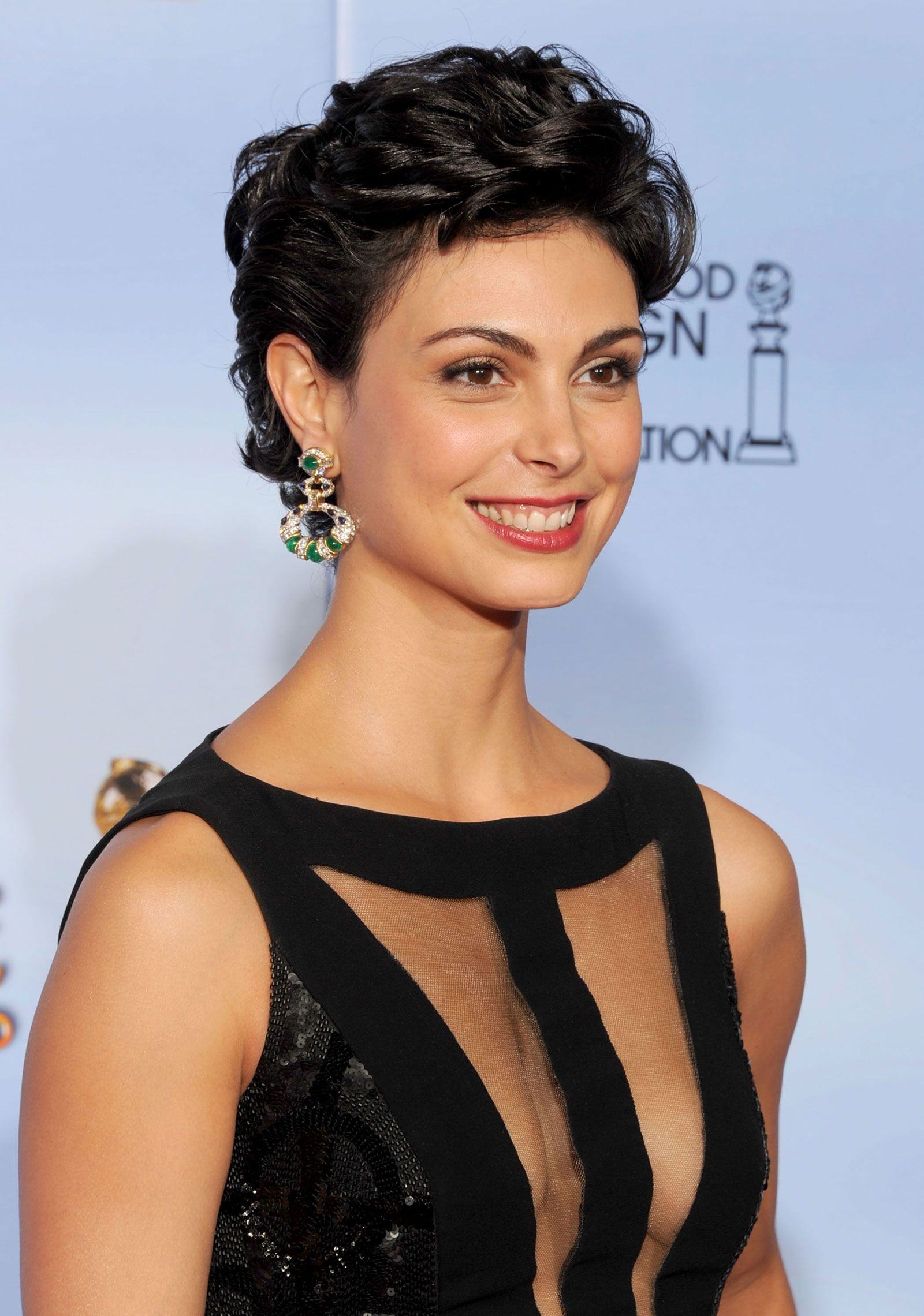 morena-baccarin - short hairstyle | hairstyles | pinterest | globe