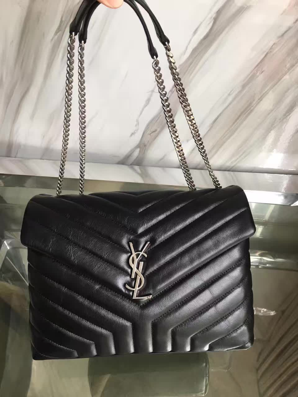 8b3b83fdfe67 The BEST YSL MONOGRAM LOULOU Counter Quality Replica Available Online!  Experience the Designer Discreet difference by shopping with us today!