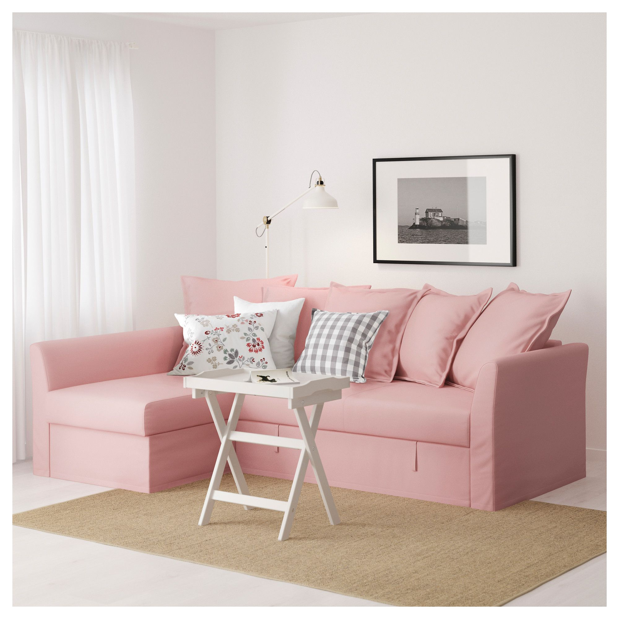 Corner Sofa Bed Under 300: Pink Sofa Ikea Diy Success Dyeing An Ikea Sofa A New Color
