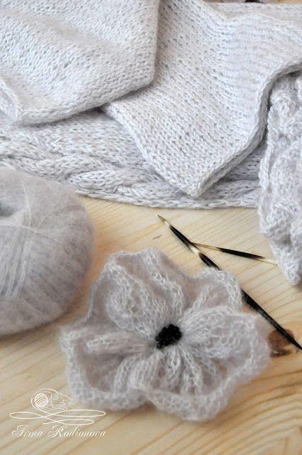Вязание спицами крестики