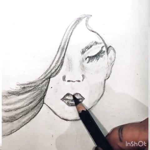 Pin De Ana Etchebaster En Crafts Dibujos A Lapiz Faciles Mujer Dibujo A Lapiz Tutoriales De Dibujo A Lápiz
