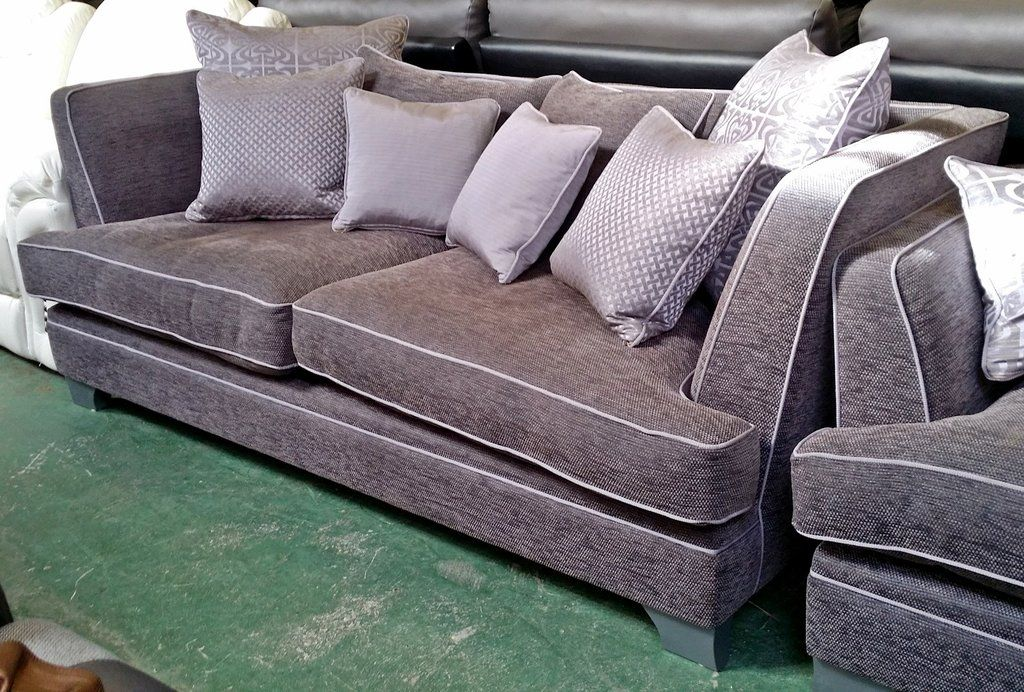 House Of Fraser Sofa Steal Sofa Outlet Homeflair Buoyant Sienna Fabric Grey 2 Piece