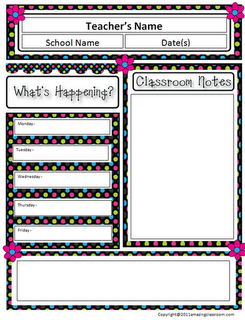 Classroom Newsletter Template Free  TrNewsletter Templates