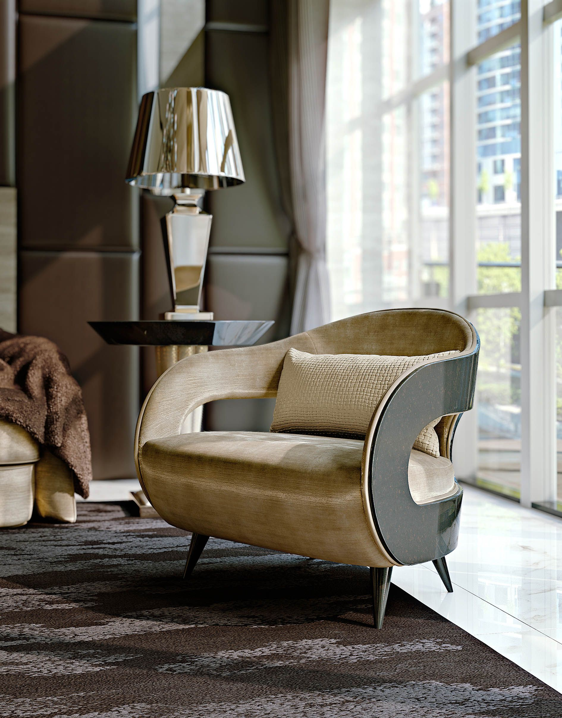 Stardust Collection Italian luxury design armchair
