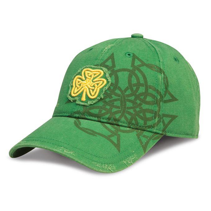 Celtic Shamrock Hat / shopirish.com