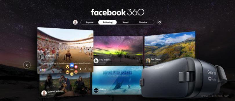 Samsung Gear Vr Ya Tiene Su Propia Aplicación Facebook 360º Video App Virtual Reality App