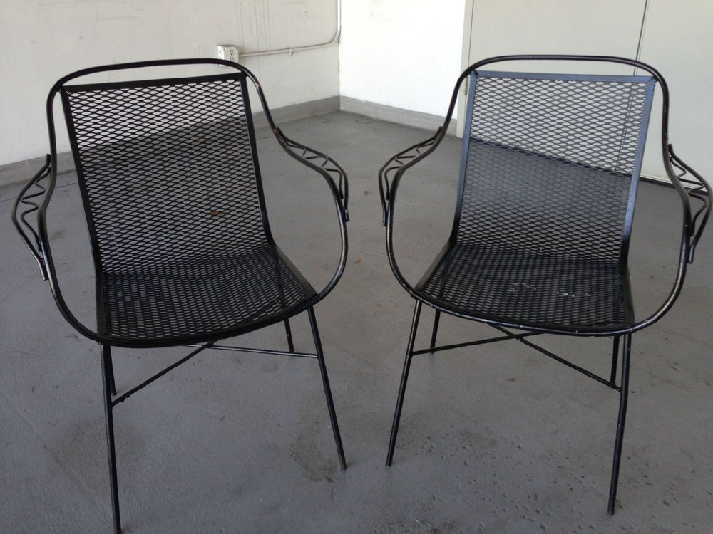 Lovely Mid Century Patio Chair