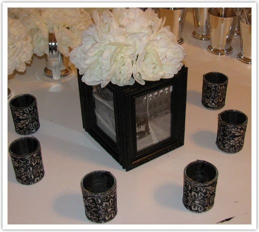 Picture Frame Centerpiece