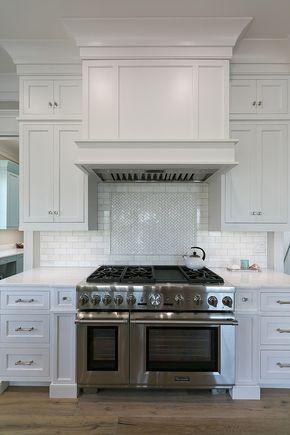 Elegant Kitchen Cabinet Hood Cover