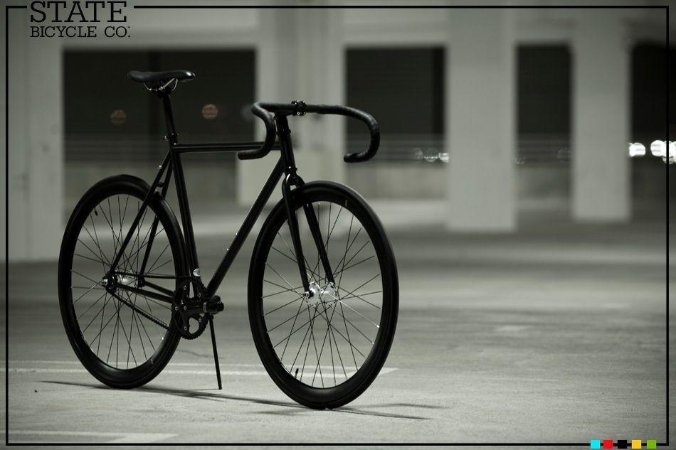 State Bicycle Co Matte Black Iii Fixed Gear Bike Bicycle