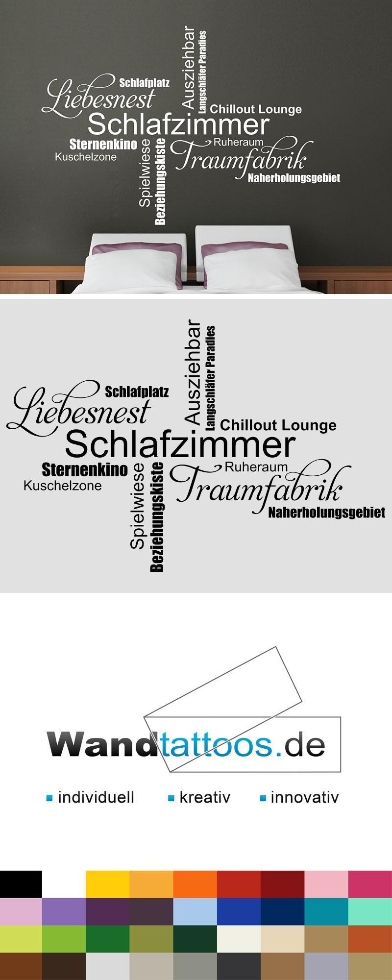 Wandtattoo Moderne Schlafzimmer Begriffe Modernes Schlafzimmer