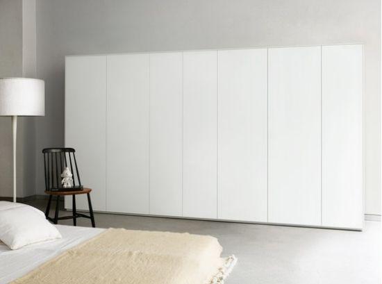 Einbauschrank Schlafzimmer ~ Schlafzimmer schrank minimalistisches kleiderschrank design piure