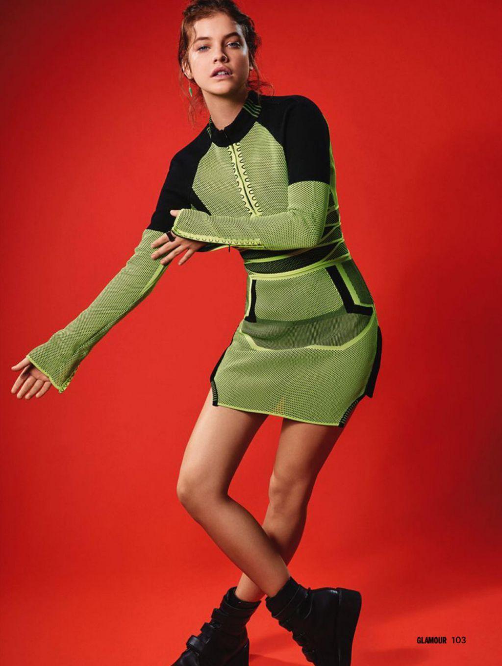 Barbara Palvin looks stunning in green. Barbara Palvin