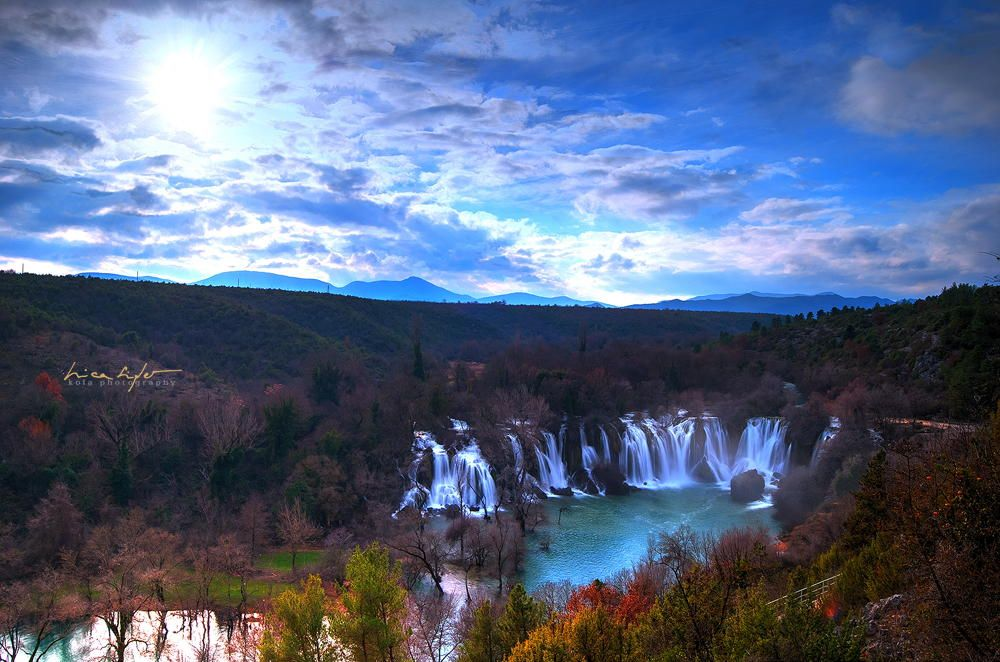 Waterfall Kravice, Hercegovina