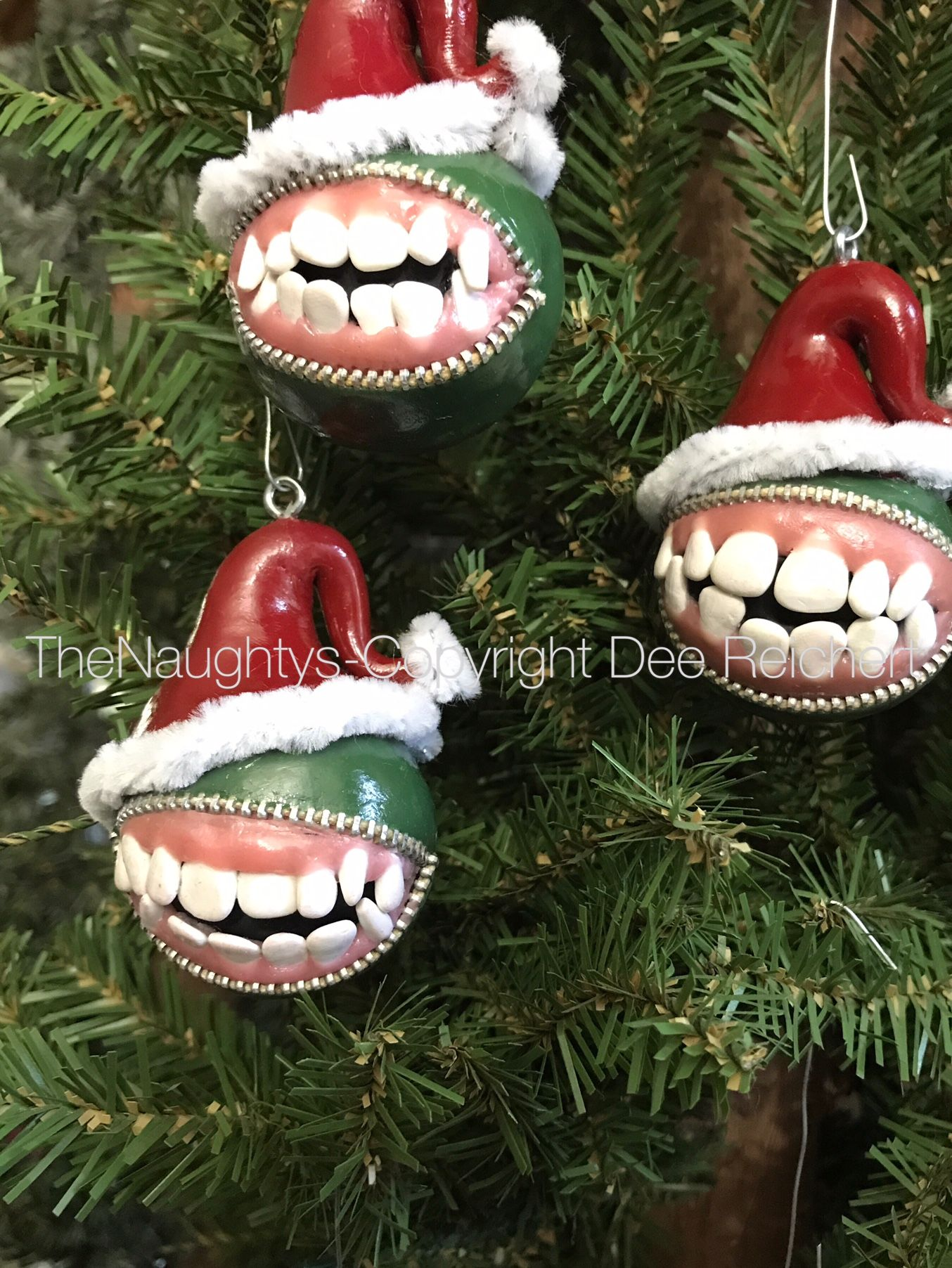 Pin by Dee Reichert on Naughty Christmas Ornaments