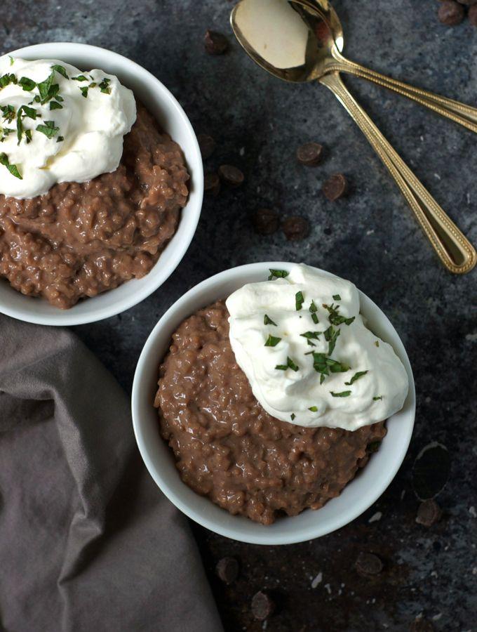 Easy Leftover Chocolate Rice Pudding | Recipe | Chocolate ...