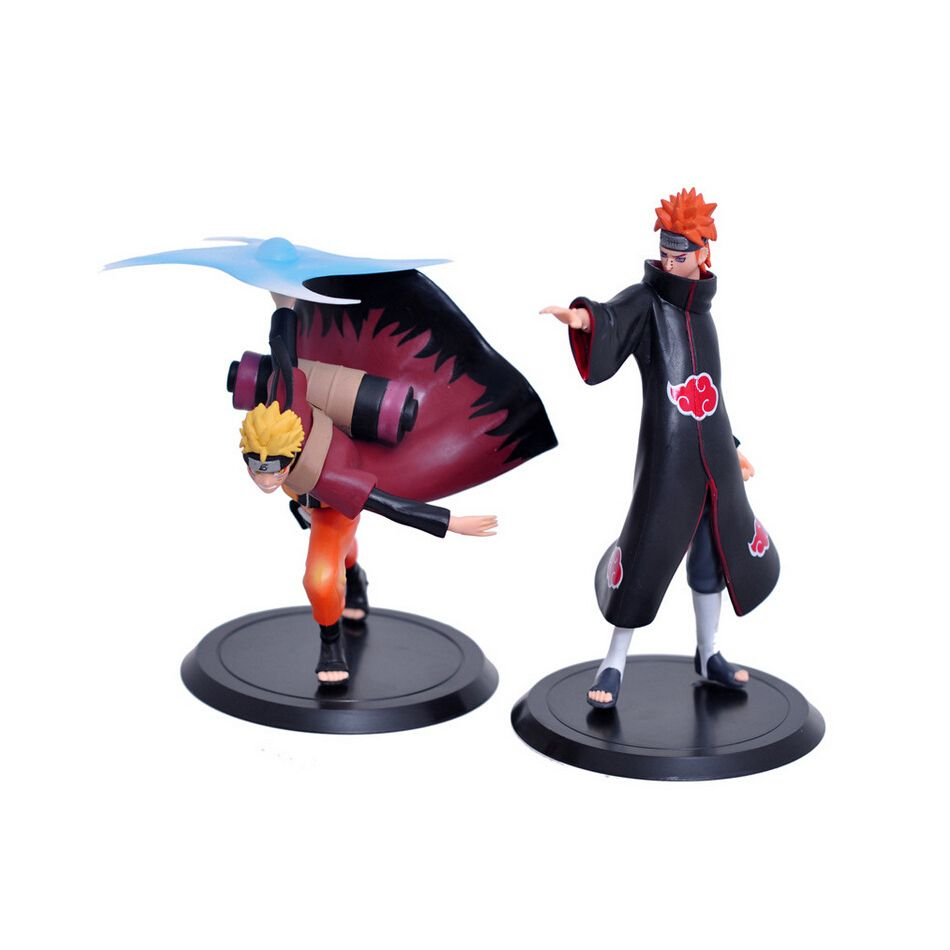 Toys cartoon images  XINDUPLAN Pcs Naruto Anime Uzumaki Naruto Pain Battle scene Cartoon