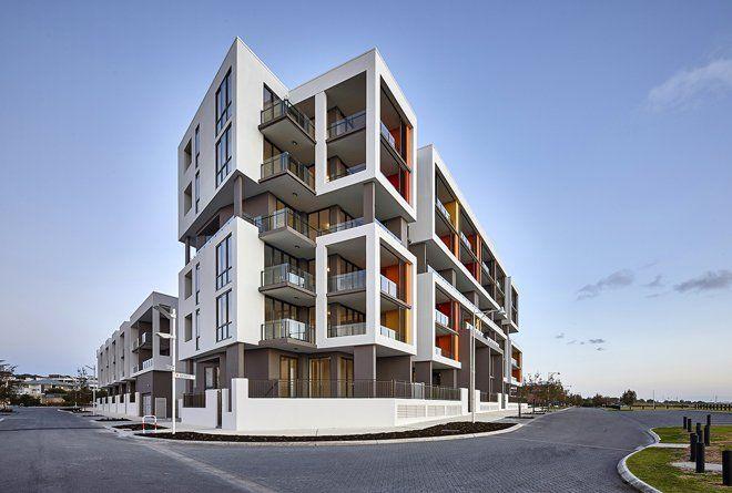Ocean Edge multi-residential apartments, Port Coogee | Cameron Chisholm Nicol