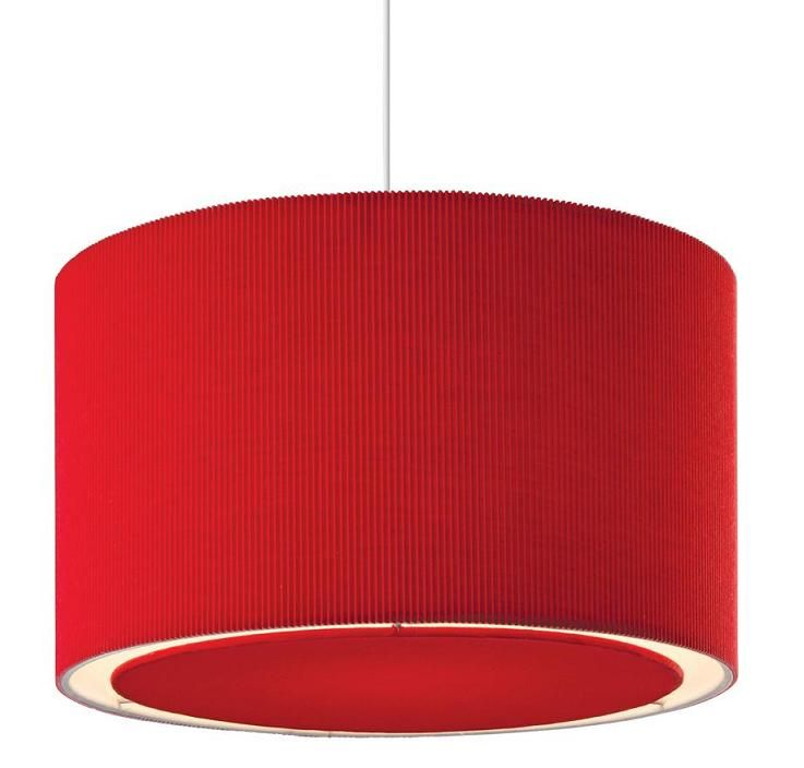 Attractive Red Ceiling Lamp Shades Design