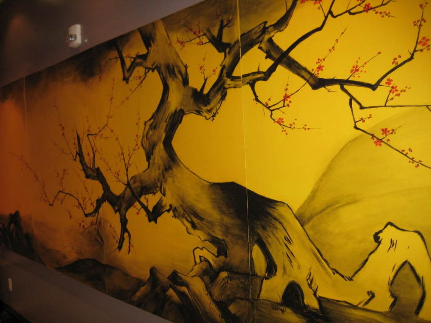 Hd wall painting tips wallpaper asian mural in restaurant for Mural painting designs