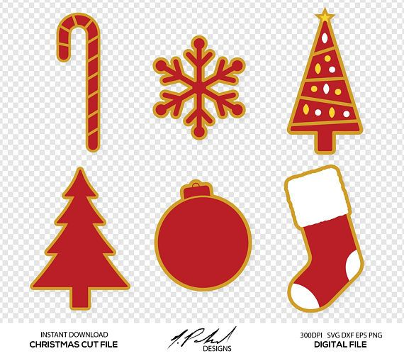 christmas digital cut files digital files christmas svg christmas dxf christmas eps christmas