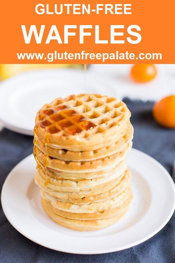 Gluten-Free Waffles #glutenfreebreakfasts
