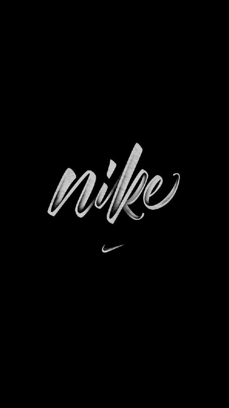Pin By Keila On Disenos Nike Wallpaper Cool Black Wallpaper Adidas Iphone Wallpaper
