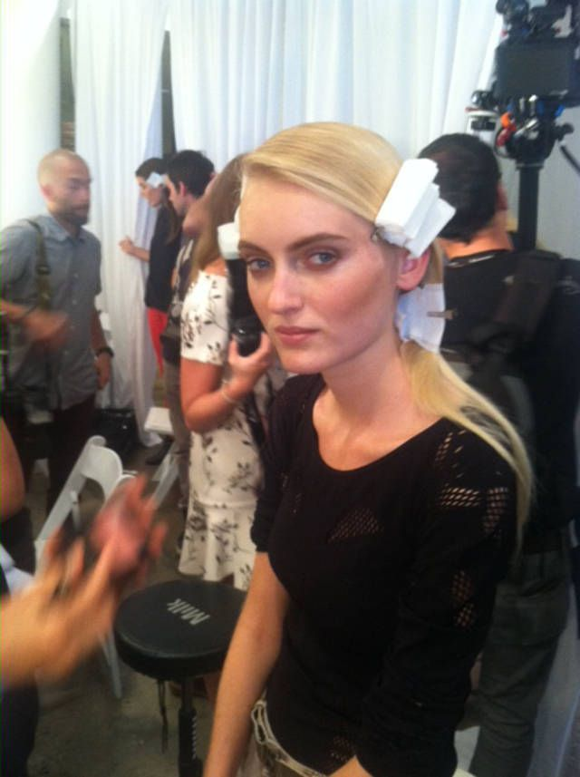 New York Fashion Week -- NYFW -- Jonathan SImkhai -- Hannare Blaauboer