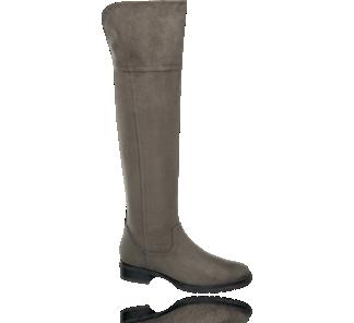 Popielate Kozaki Damskie Typu Muszkieterki 1116118 Boots Over Knee Boot Knee Boots