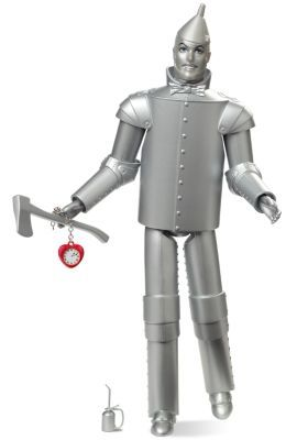 They've been making a version of this for ages. I never have brought myself to buy him, because... what do I do with him once I have him? Now, I can stare at him any time I want without having to clear a space for him anywhere.  The Wizard of Oz™ Tin Man™ Doll | The Barbie Collection