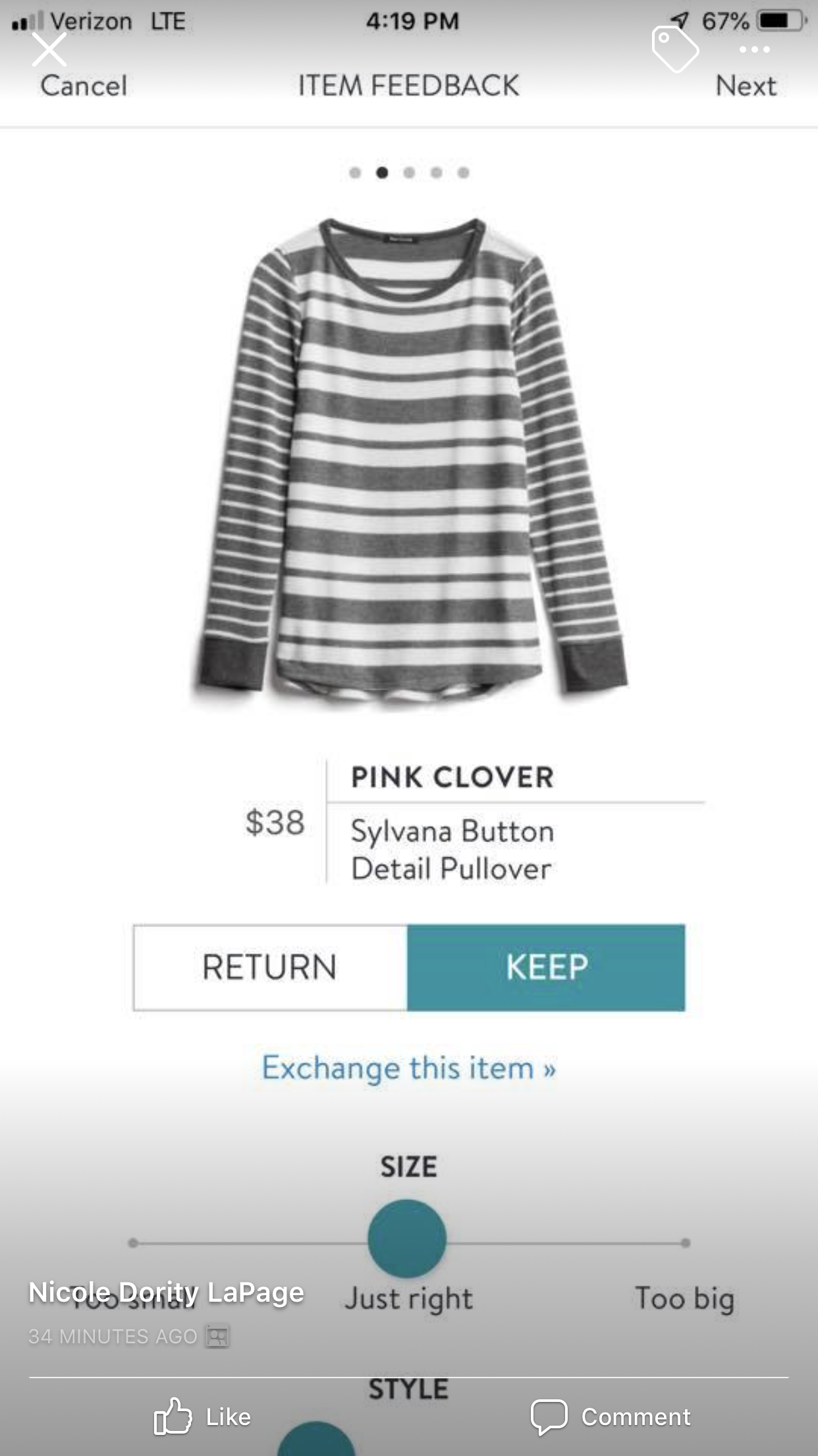 Love the stripes stitchfix inspiration pinterest clothes love the stripes maxwellsz