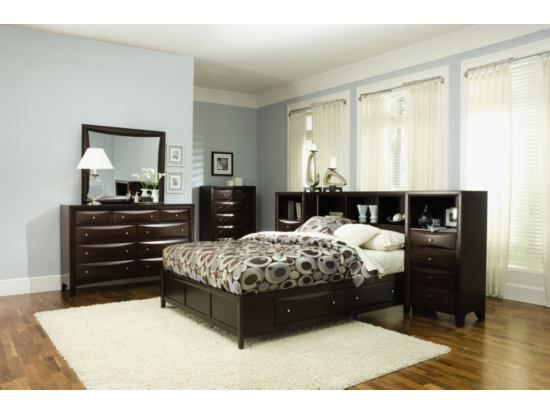 clarion 7 pc wall bedroom package value city furniture