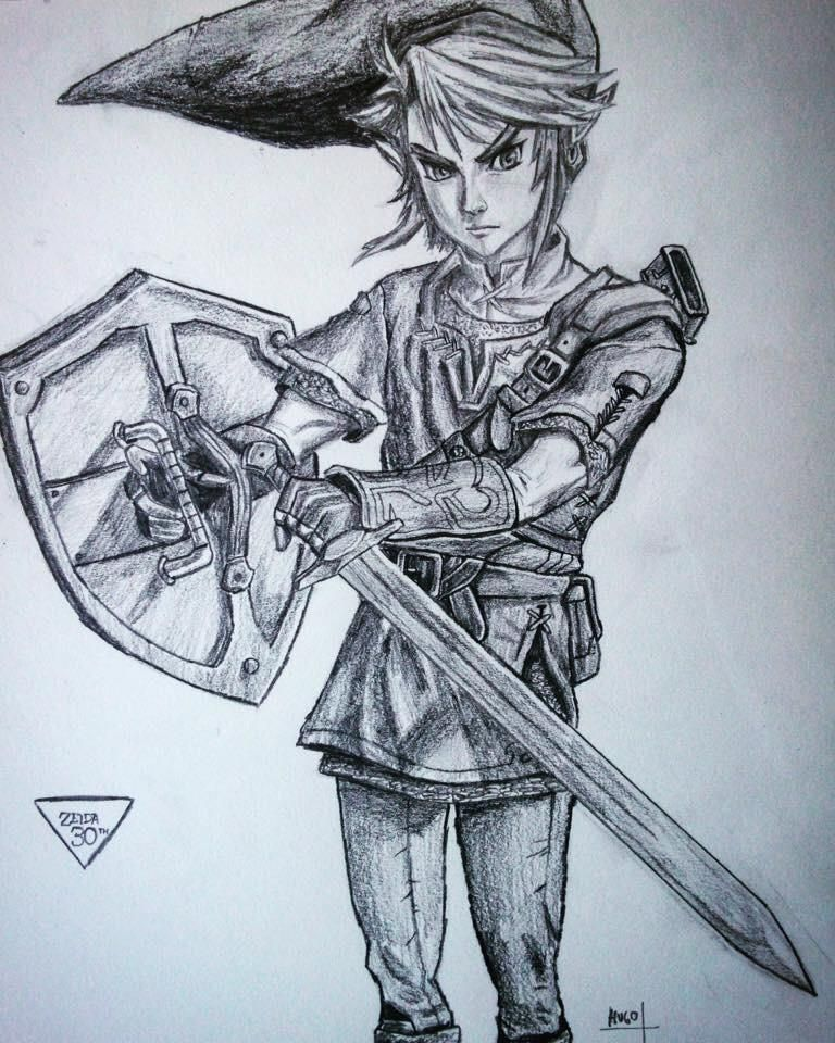 link twilight princess nintendrawing visit blazezelda tumblr com