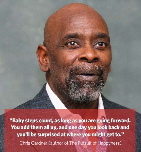 Baby Steps Count As Long As You Are Going Forward You Add Them