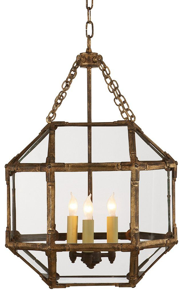 Unique Morris Small Lantern Gilded Iron Simple Elegant - small lantern pendant light Picture
