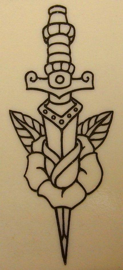 52+  Ideas Tattoo Traditional Rose Tatoo